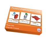Picture Caption Matching - Letters and Sounds Series