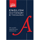 COLLINS GEM DICTIONARY/THESAURUS