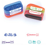 Spanish School Stamps Stacks