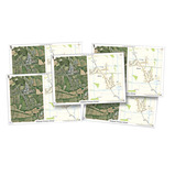Aerial Photograph Deskmats - Our School