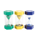 GIANT SAND TIMERS SET OF 6 ASSORTED
