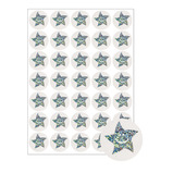 Sparkly Stars Motivational Stickers - 24mm