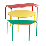Rectangular Coloured Frame Table