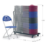 BIG DEAL 2000 Folding Chair and Trolley Bundle Offer