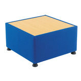 GLACIER UPHOLSTERED TABLE BLUE