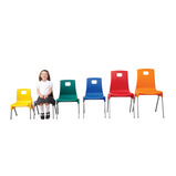 ST CHAIR SIZE 6 460MM YELLOW