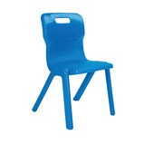Titan One Piece Chairs 100 Pack