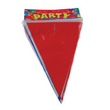 Red, White and Blue Plastic Bunting