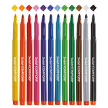Triangular Shaped Colouring Pens