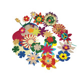 Glitter Festival of Flowers
