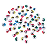 Coloured Self-Adhesive Wiggly Eyes