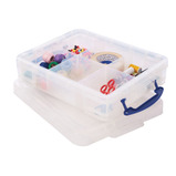 REALLY USEFUL BOX 11L & TRAY CLEAR
