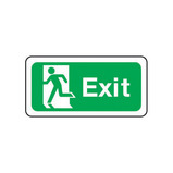 ESCAPE SIGN SYMBOL LEFT 450X150 POLY