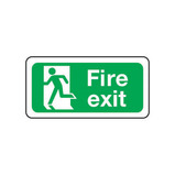 Fire Escape Sign - Symbol Left