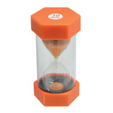 SAND TIMER 10 MINUTE ORANGE EACH