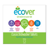 ECOVER DISHWASHER TABLETS 70PK