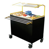 Single Sided Salad Bar Trolley