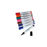 CONSORT WASHABLE W/B MARKER PK12 BLK