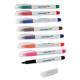 Consortium Slim Barrel Washable Whiteboard Pens