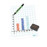 Show-me® A4 Gridded Whiteboards