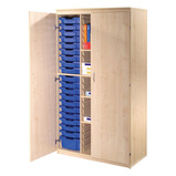 STORAGE TRAY C/BRD 1500MM OAK/BLUE