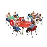 ROUND TABLE 1220X698 BEECH