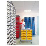 Metal Tray Storage Trolleys - Frame Only