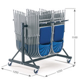 2 Column Low Hanging Storage Trolleys
