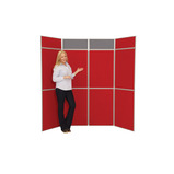 BUSYFOLD SYS 6 PANEL UNIT RED