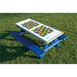 Snakes and Ladders Gameboard Top