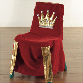 Sparkly Throne Chair...